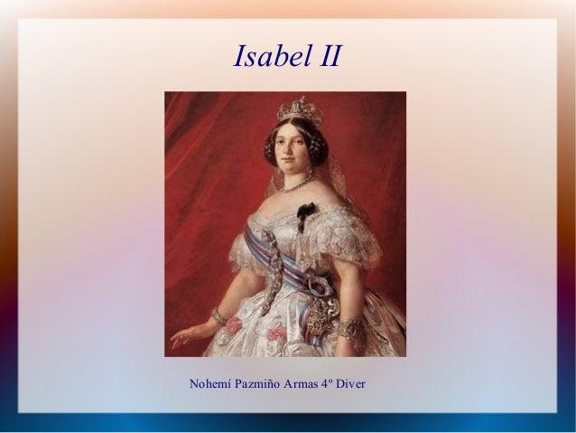 Isabel II Nohemí Pazmiño Armas 4º Diver