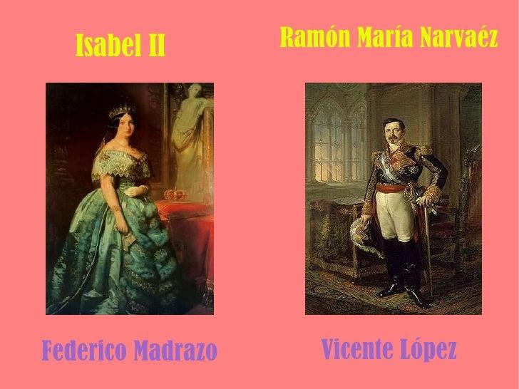 Isabel ii y narváez