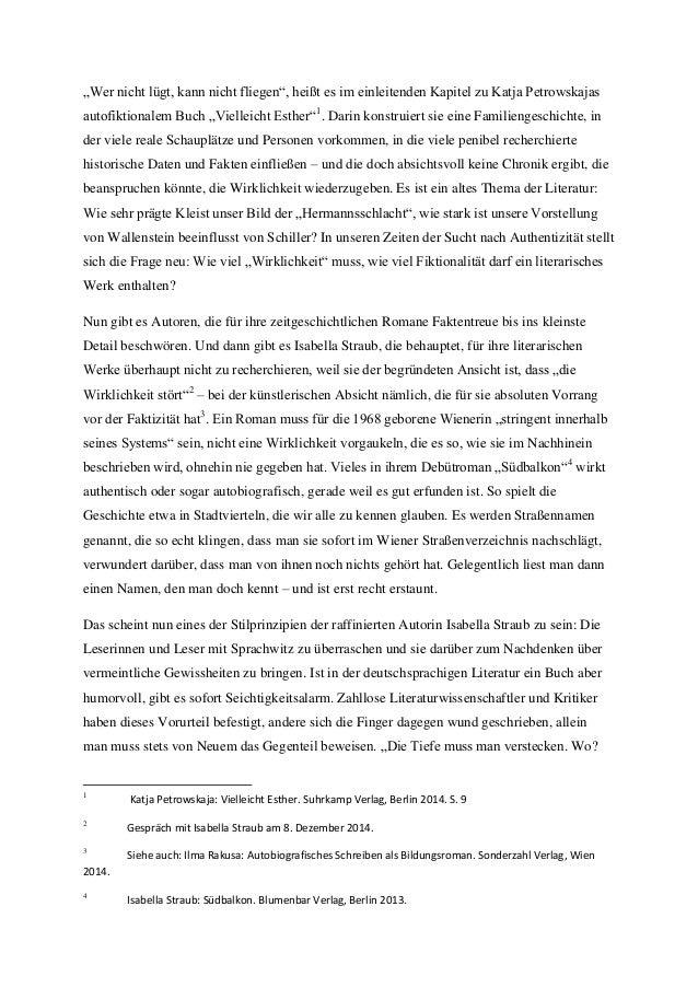 """""""Wer nicht lügt, kann nicht fliegen"""", heißt es im einleitenden Kapitel zu Katja Petrowskajas autofiktionalem Buch """"Viellei..."""