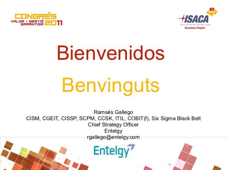 ISACA Barcelona Chapter Congress - July 2011