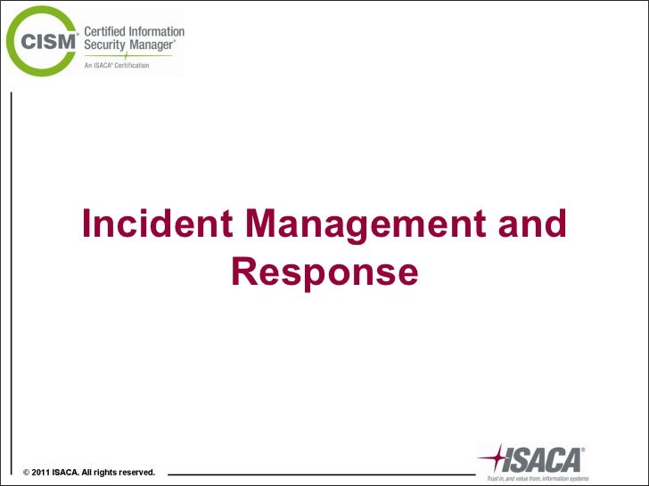 Incident Management and Response