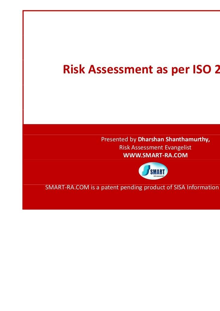 ISO 27005 Risk Assessment