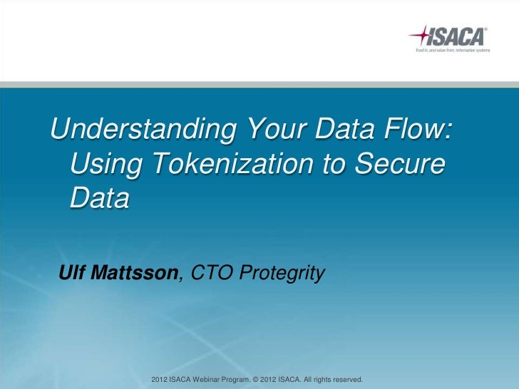 Isaca e symposium   understanding your data flow jul 6