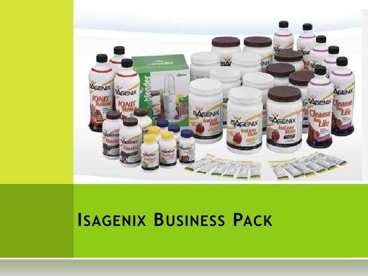 Isagenix business pack