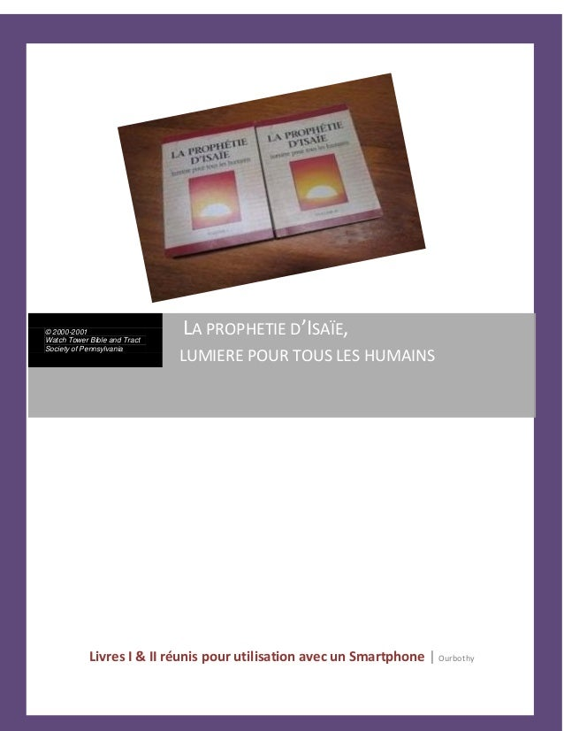 Livres I & II réunis pour utilisation avec un Smartphone | Ourbothy © 2000-2001 Watch Tower Bible and Tract Society of Pen...