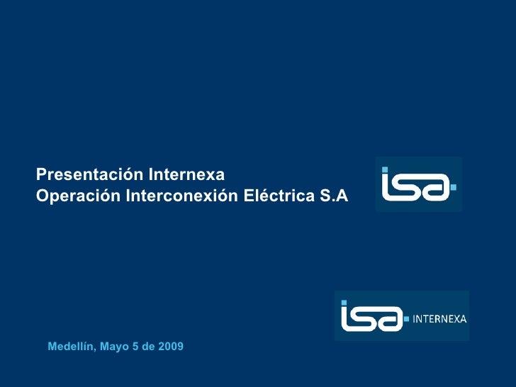 Isa Internexa 2009