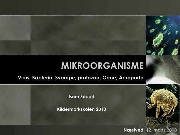 Isam   Microorganisms