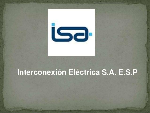 Interconexión Eléctrica S.A. E.S.P