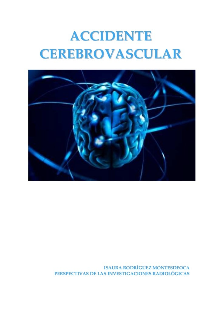 Isaura Rodríguez Montesdeoca - Accidente cerebrovascular (ictus)