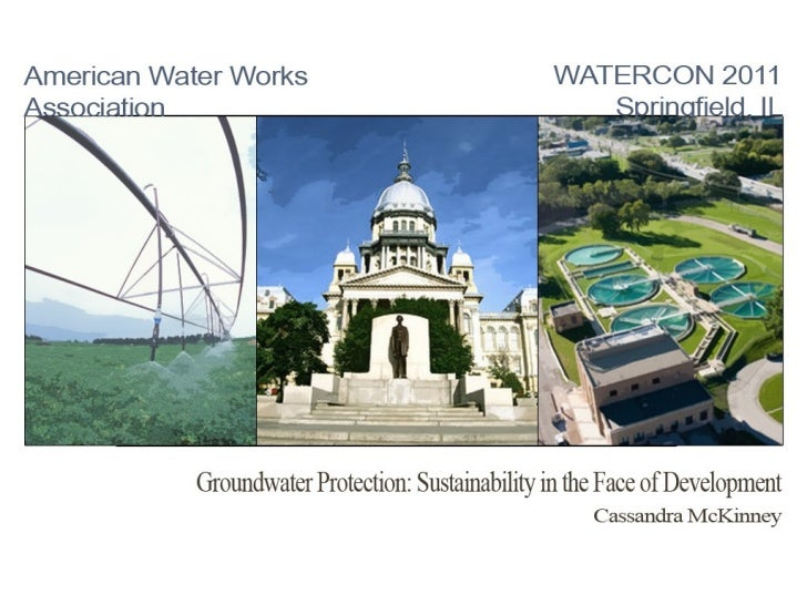 Groundwater Protection: Sustainability in the Face of Development