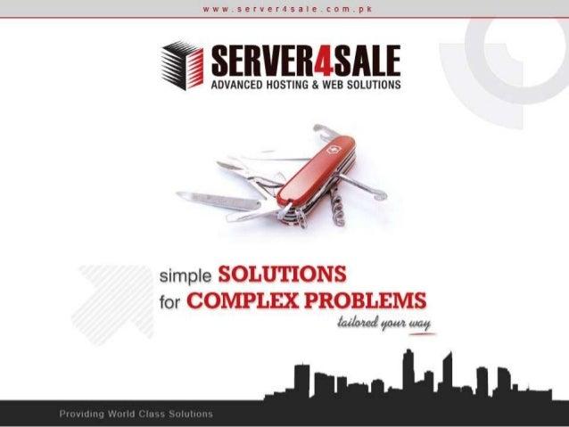 About Server4Sale