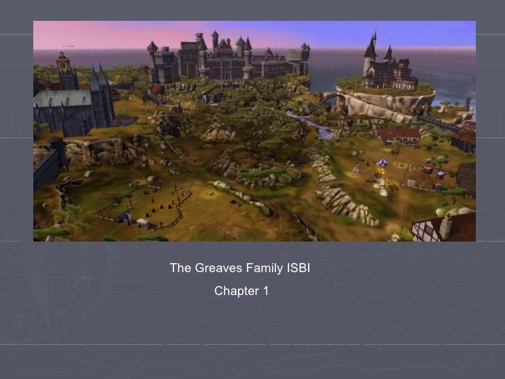 The Greaves Family ISBI       Chapter 1
