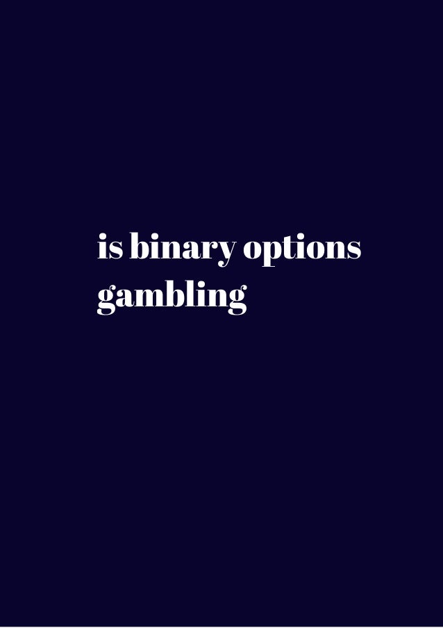 Binary options sports betting