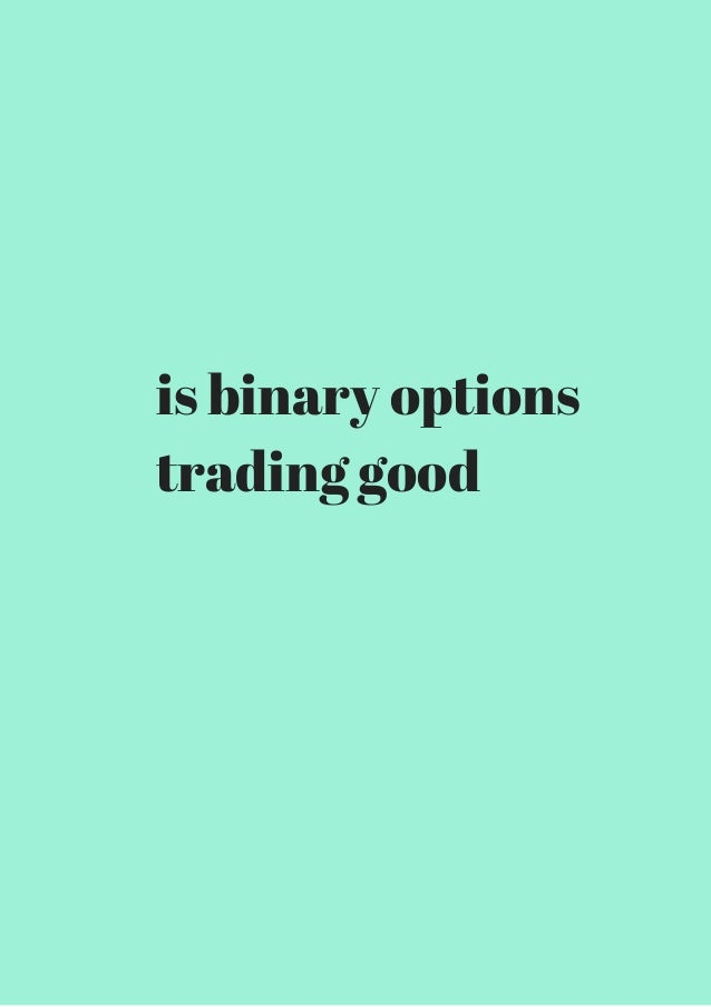 binary options gold trading