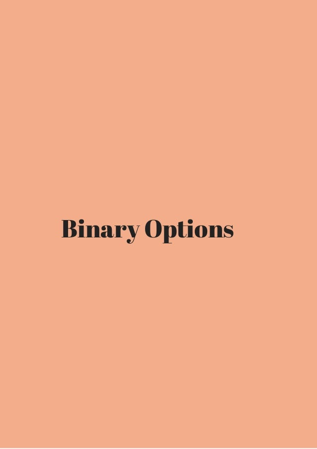 Ebook on binary options trading list