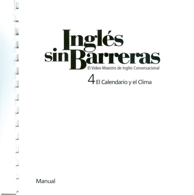 Ingles sin barreras manual 4 dvd