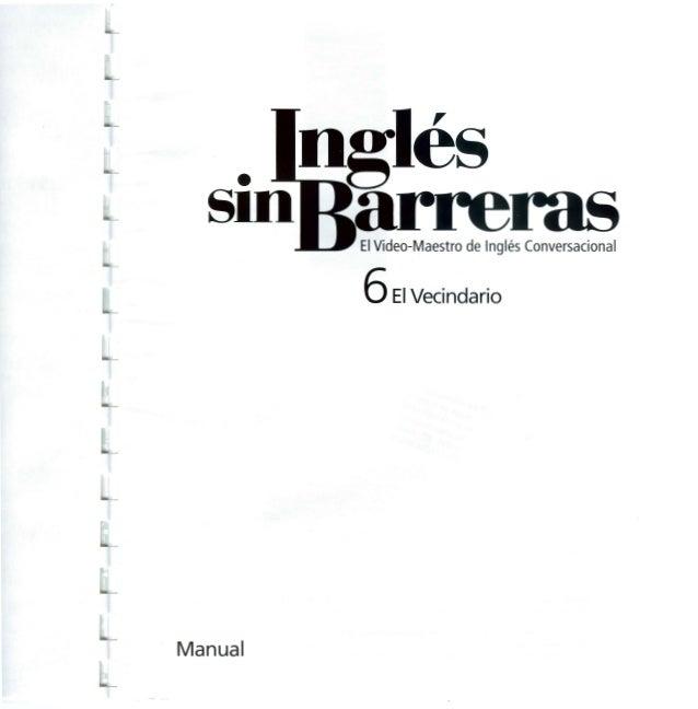 Ingles sin barreras manual 6 dvd