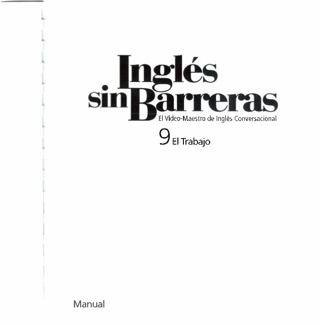 Ingles sin barreras manual 9 dvd