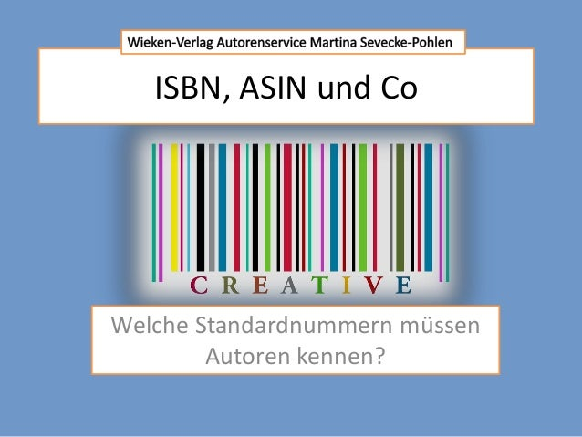 Isbn standardnummern