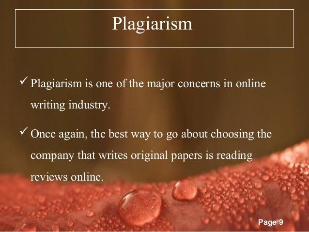 Is buying essays plagiarism
