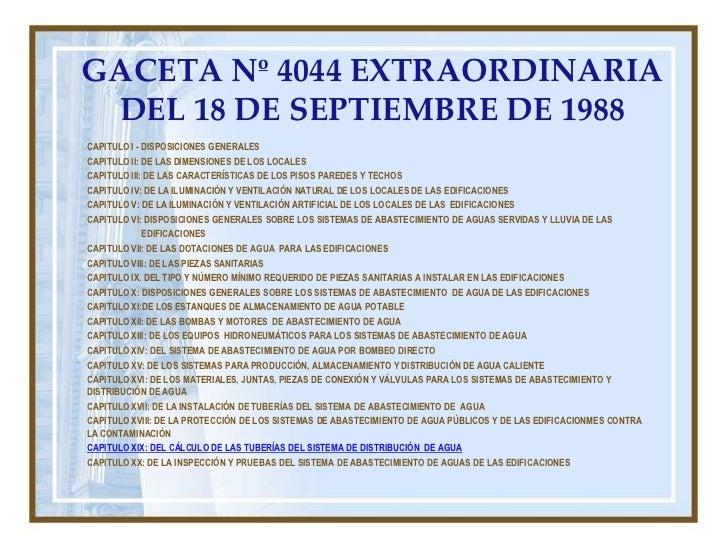 PROCEDIMIENTOS DE CALCULO DE AGUAS BLANCAS EN EDIFICACIONES RESIDENCIALES