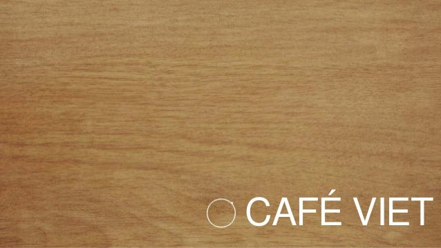ISC Marketing - Example of Cafe Viet Online Marketing campaign