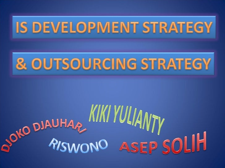 Is Development & Outsourcing