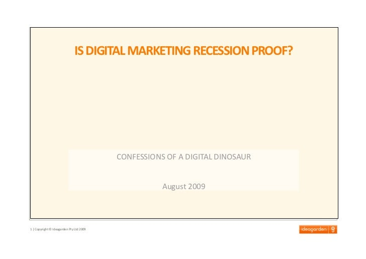 is digital marketing recession proof?
