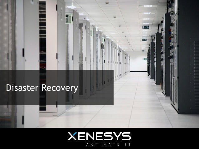 Offering - Disaster recovery