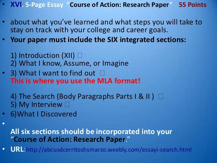 I-search research paper