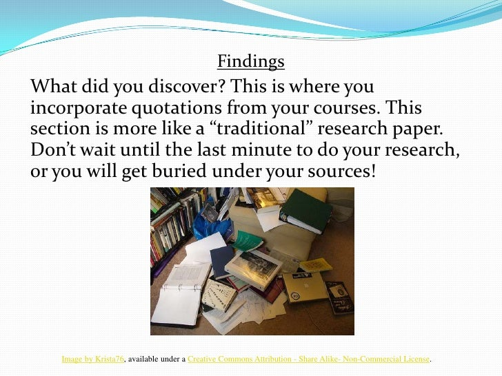 I Search Essay