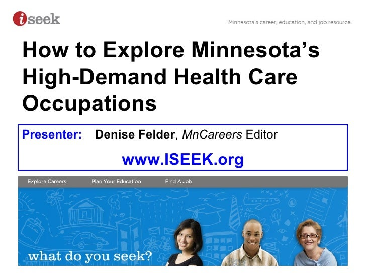 How to Find Health Care Career Info