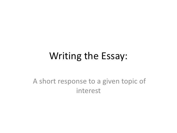 Isee writing class