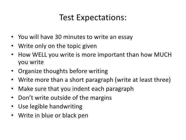 th grade descriptive essay examples