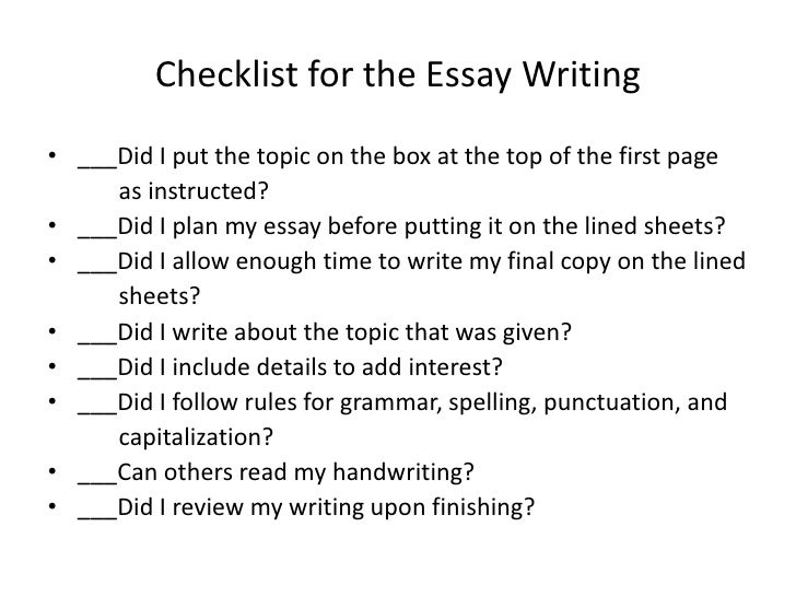 Write perfect college essay