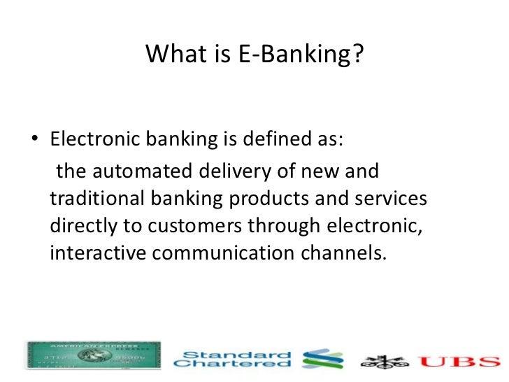 Dissertation On E Banking