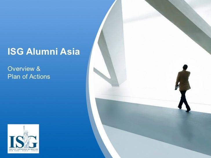 ISG Alumni Asia