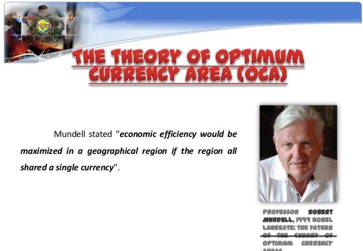 Optimum currency area