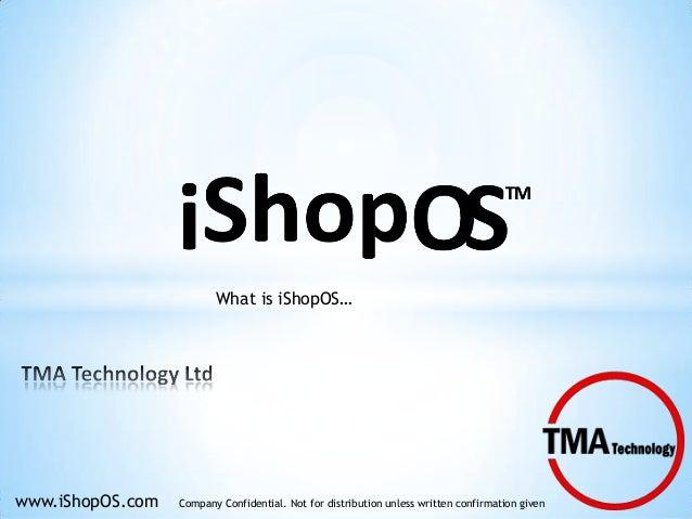 What is iShopOS presentation