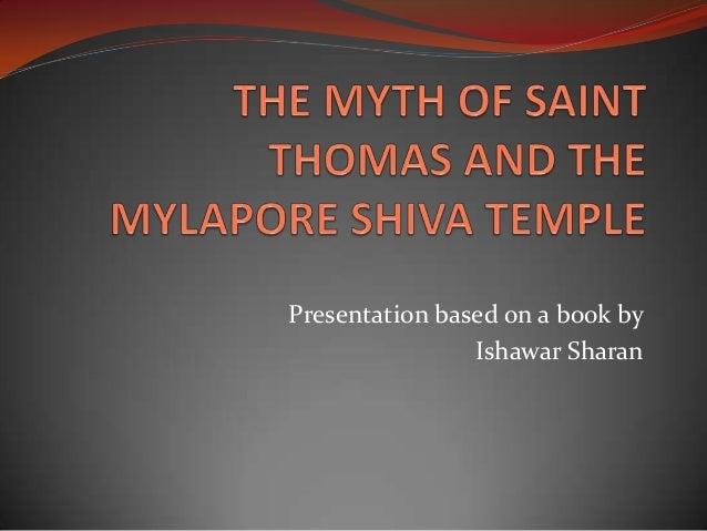 Presentation based on a book by                Ishawar Sharan