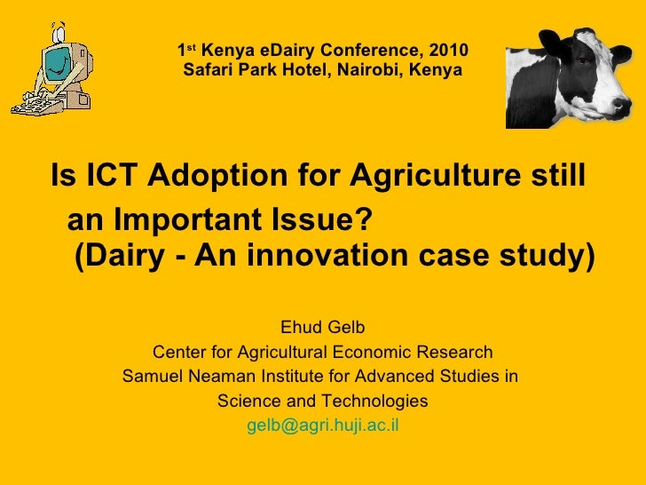 Is ict still an important issue   for proceedings