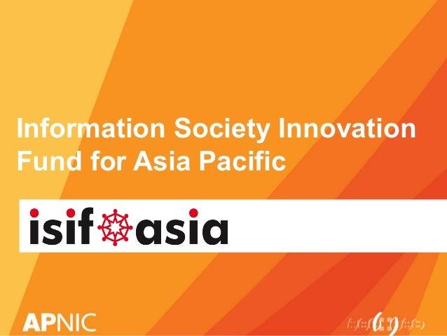 ISIFAsia introduction ARM3/bdNOG1