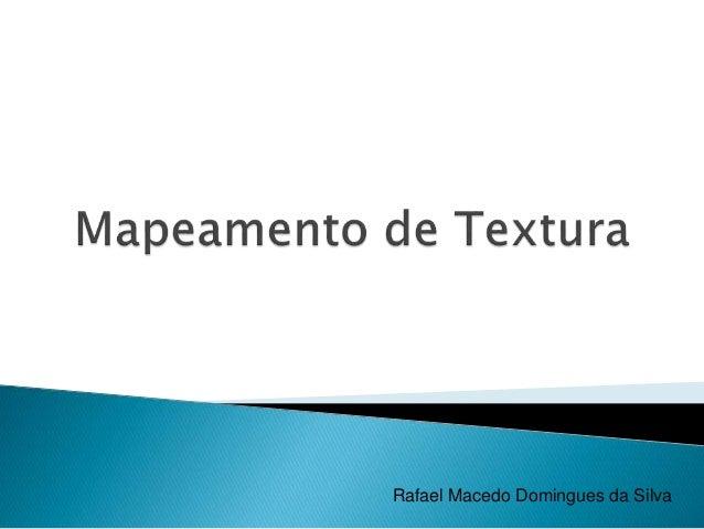 Rafael Macedo Domingues da Silva