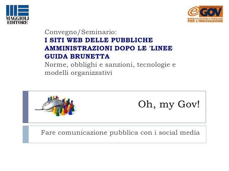 I siti web delle pubbliche amministrazioni