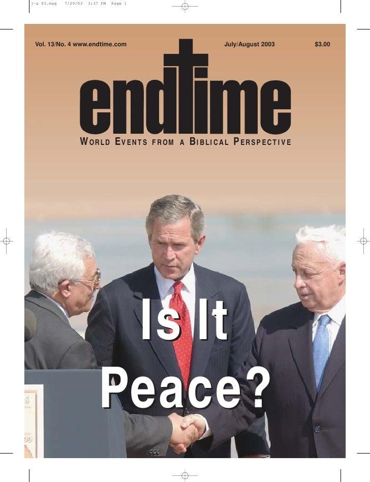 Is it peace?   jul-aug 2003