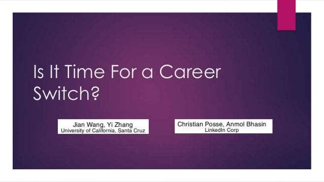 Is It Time For a Career Switch?