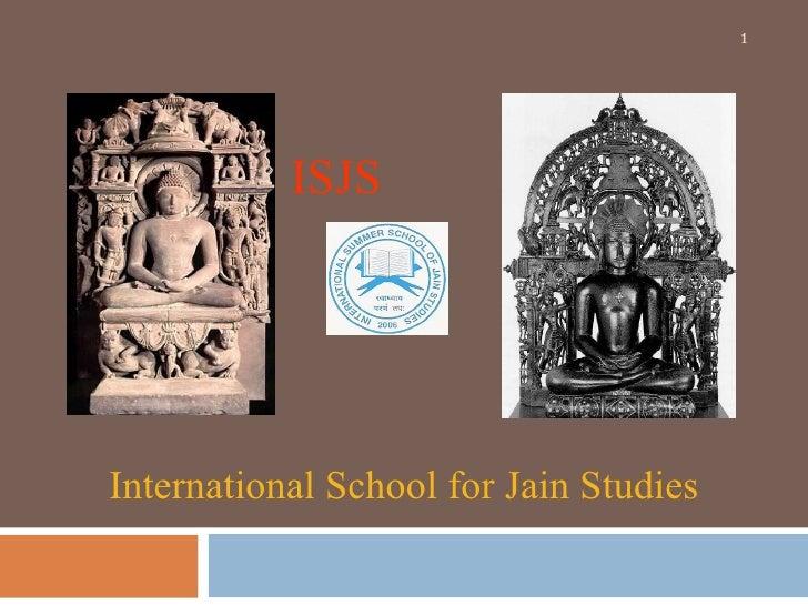 International School for Jain Studies Oct 2009