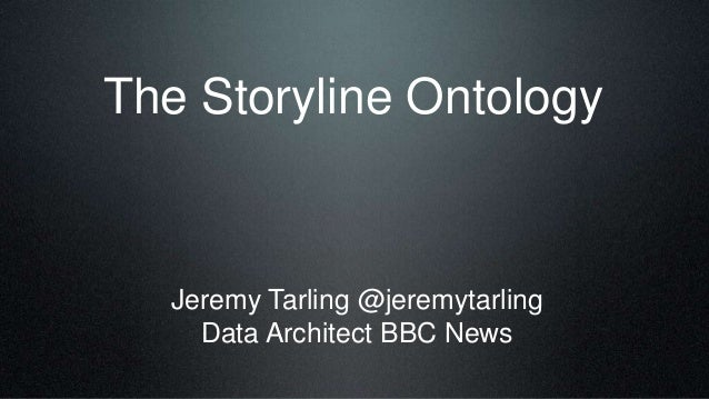 Implementing the Storyline Ontology in BBC News