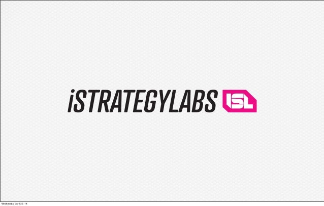 iStrategyLabs Capabilites and Case Studies