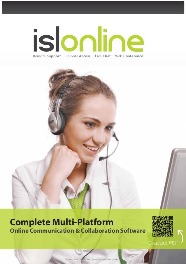 Remote Support | Remote Access | Live Chat | Web ConferenceComplete Multi-PlatformOnline Communication & Collaboration Sof...